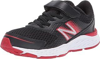 New Balance Kid`s 680 V6 Alternative Closure Running Shoe