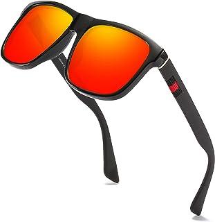 Sponsored Ad - PARANOID Square Polarized Sunglasses for Men Riding Driving Fishing UV Protection