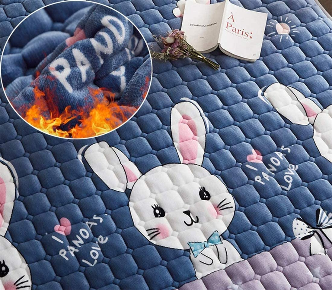 Collapsible Futon Japanese Floor Mattress Futon Mattress,Tatami Mat Sleeping Pad Foldable Roll Up Mattress Boys Girls Dormitory Mattress Pad Kids Floor Lounger Bed Couches and Sofas,F,90x200cm for Hom