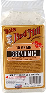 Bob's Red Mill 10 Grain Bread Mix, 19-ounce (Pack of 4)