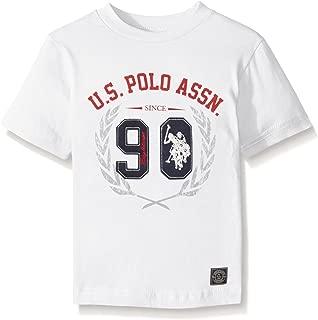 U.S. Polo Assn. Boys' Crew Neck Iconic Graphic Logo T-Shirt