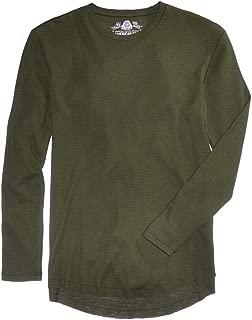 American Rag Mens Henley Crew Thermal Shirt