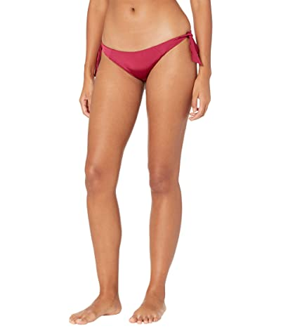 Volcom Simply Solid Tie Side (Pomegranate) Women