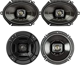 """$178 » Polk Audio - A Pair of DB652 6.5"""" Coaxial and A Pair of DB572 5x7 Speakers - Bundle Includes 2 Pair"""
