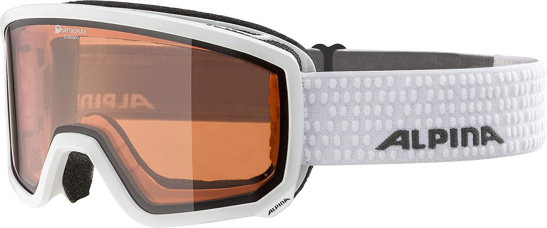 ALPINA Erwachsene Scarabeo QH Skibrille