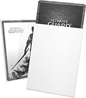Ultimate Guard UGD010111 Katana Standard Size Sleeves 100-Pieces, White