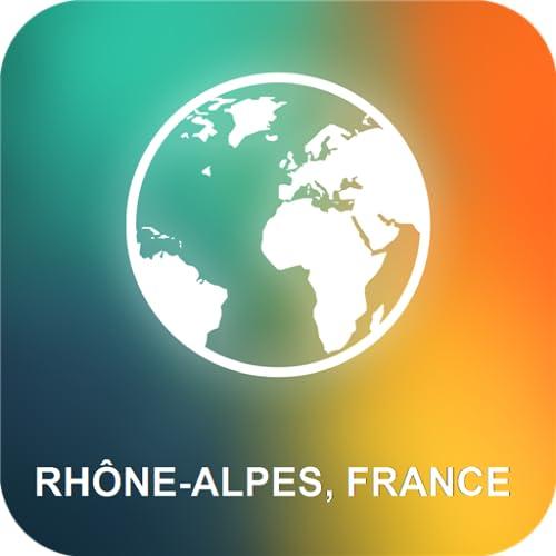 Rhône-Alpes, France Carte