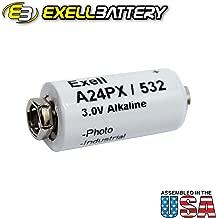 Exell A24PX 3V Alkaline Battery V24PX RPX24 532 PX24 EPX24 2LR50