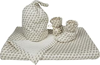 Serena & Lily Mercer Gift Set (Baby) - Shell-0-3 Months
