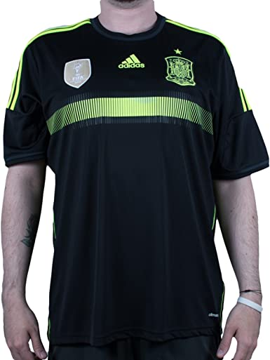 Amazon.com: adidas Spain Away Soccer Jersey - 2014 World Cup ...