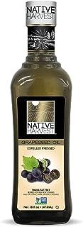 Native Harvest Non-GMO Grapeseed Oil 473ml (16 fl.oz)