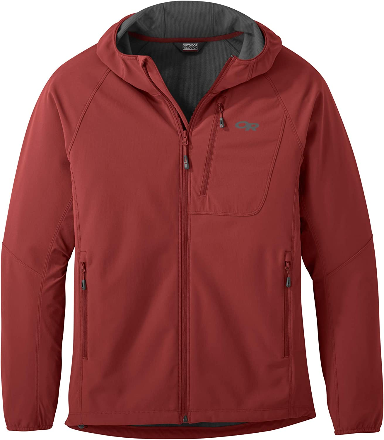Max 80% OFF Outdoor Research Men's Ferrosi National products Hooded Grid Jacket-Small Sapphire