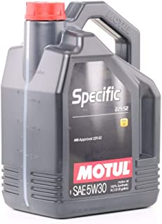 MOTUL 104845 Specific 229.52 5W-30-5 liter