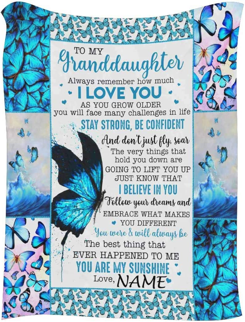 InterestPrint Personalized Lover 正規店 Name Message to Blanket Text My 輸入