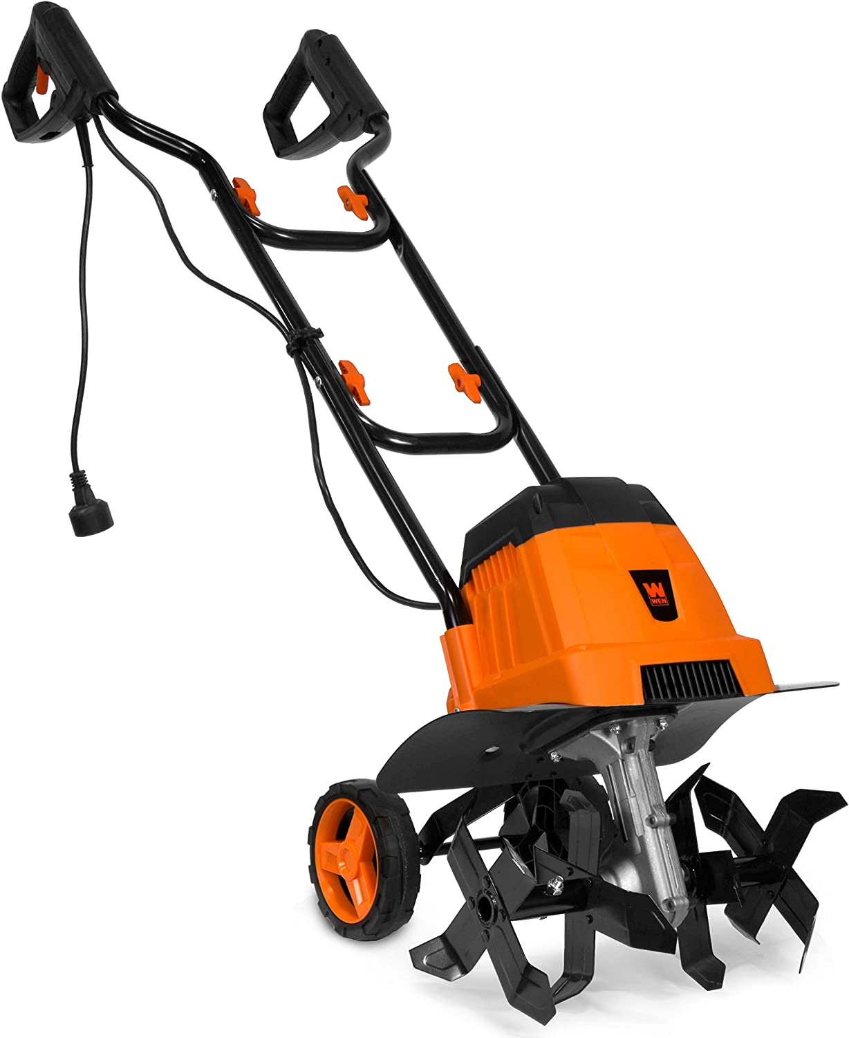 WEN TC0714 7-Amp 14.2-Inch wholesale Electric and Tiller Black Sacramento Mall Cultivator