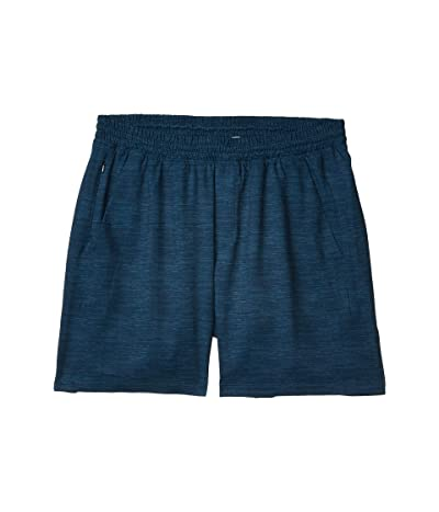 The Normal Brand 7 Bros Workout Shorts (Navy) Men