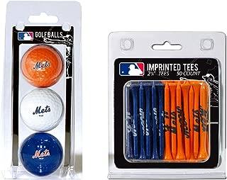 TEAM GOLF MLB Logo Imprinted Golf Balls (3 Count) & 2-3/4