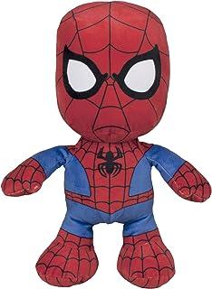 Spiderman-Peluche Floppy, 30 cm, (Famosa 760015297)