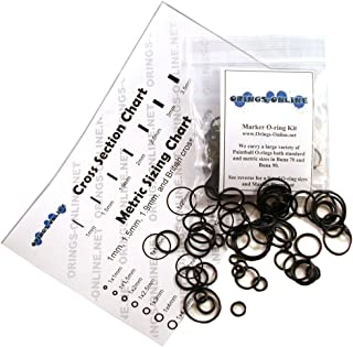 Spyder Shutter Paintball Marker O-ring Kit (2x or 4x Rebuilds)