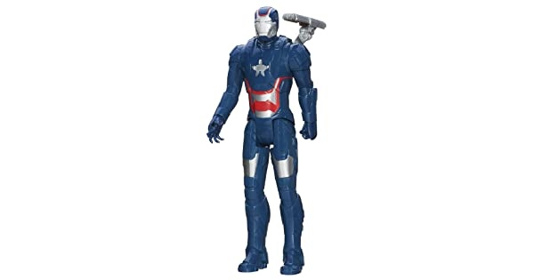 12-Inch Hasbro A2512000 Marvel Iron Man 3 Titan Hero Series Avengers Initiative Movie Series Iron Patriot Action Figure