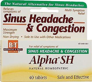 Boericke & Tafel Alpha SH Sinus Headache - 40 Tablets