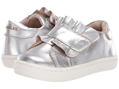 Old Soles Urban Frill (Toddler/Little Kid) (Silver) Girl