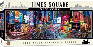 MasterPieces Cityscapes Panoramic Jigsaw Puzzle, Times Square, New York, Photographs by James Blakeway, 1000 Pieces