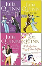 Julia Quinn Bridgerton Family Series 6-9: 4 Collection Books Set (When He Was Wicked, It's In His Kiss, On The Way To The Wedding, The Bridgertons: Happily Ever After)