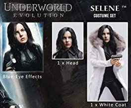 Underworld Evolution: Selene Extra Head & White Coat 1: 6 Scale Action Figure Accessory