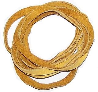 5' Natural American Deer Skin Lacing / Buckskin Lacing String (Gold)
