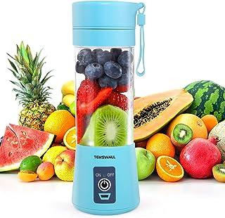 Tenswall Mini Blender, Mini mélangeur portable, Presse-Agrumes Electriques, Portable Rechargeable par USB Juicer Cup Juice...