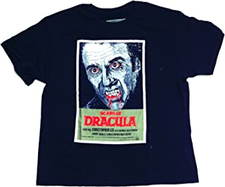 Classic Hammer Horror t Shirt - Scars Of Dracula Poster 100% Official