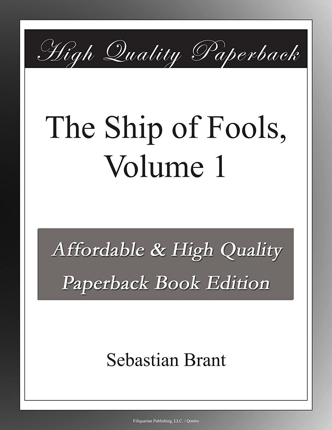 定期的直径調子The Ship of Fools, Volume 1