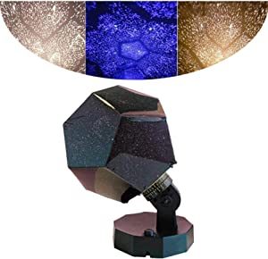 S-SNAIL-OO Stars Original Home Planetarium Projector - Planetarium Projector Realistic Constellations, Three Color Starlight Projector, Celestial Star Sky Projection Night Lamp Starry