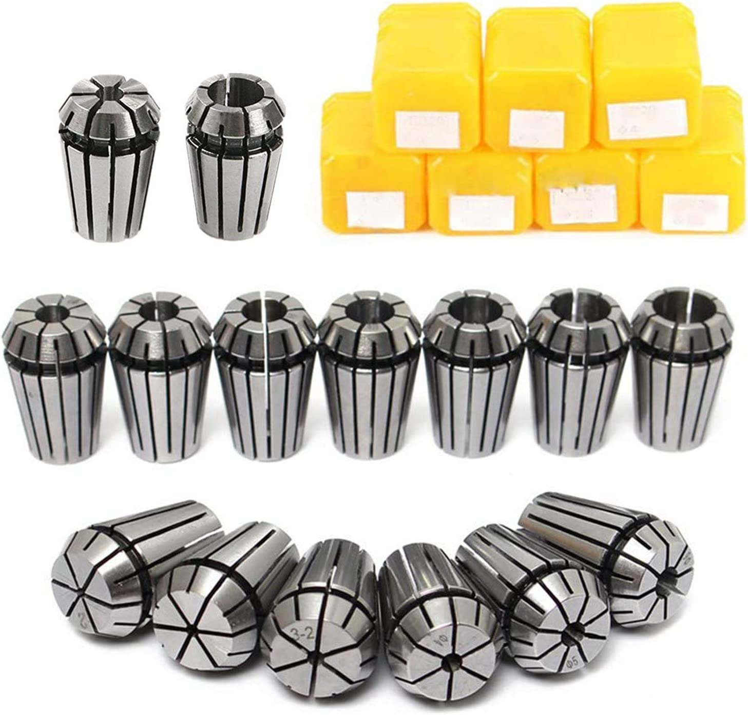 Memphis Mall ER11 specialty shop Collet Set MYSWEETY 13PCS Chuck Spring