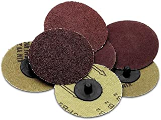 Katzco Sanding Disc Assortment – 25 Piece Set of Heavy Duty and Durable 3 Inch 36, 60, 80, 120 and 220 Grit Sander - Automotive, Tools and Equipment, Body Repair Tool