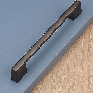 2 Piece Gold Handle For Kitchen Cupboards - Brushed Brass Door Handles Kitchen Cabinet Hardware T Bar Drawer Pull Handles ...