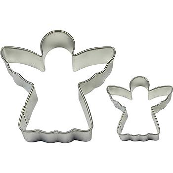 Birkmann Emporte-pièce ange avec cœur Emporte-pièce plätzchenform Acier Inoxydable 7 cm