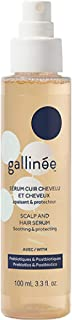 Sponsored Ad - Gallinée Scalp & Hair Serum – Prebiotic and Postbiotic Complex Protecting Hair Serum with Lactic Acid, 100m...