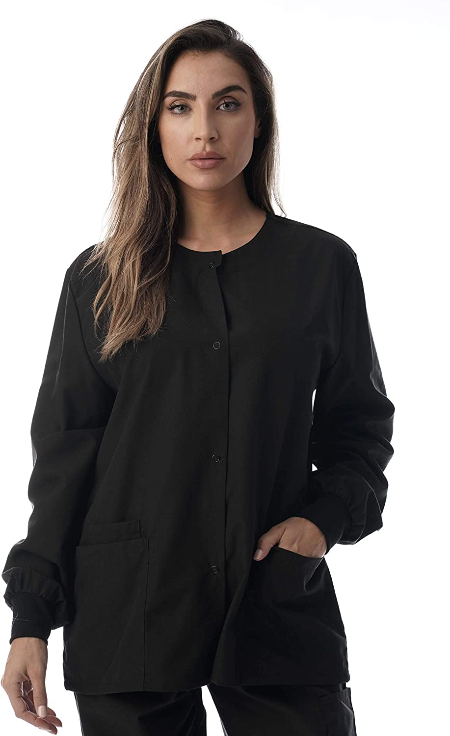 Just Love Womens Solid Jacket Uniform Coat: Clothing, Shoes & Jewelry