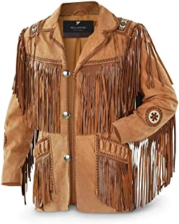 Best western leather fringe jacket Reviews
