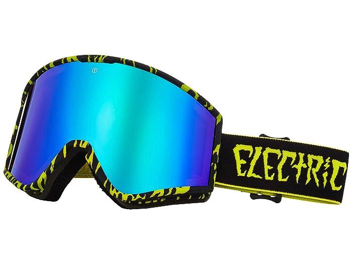 Electric Eyewear Kleveland (Sketch Brose/Green Chrome) Athletic Performance Sport Sunglasses