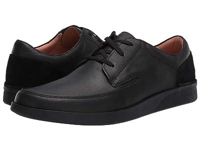 Clarks Oakland Craft (Black Leather) Men