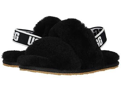 UGG Kids Oh Yeah (Toddler/Little Kid) (Black) Girls Shoes