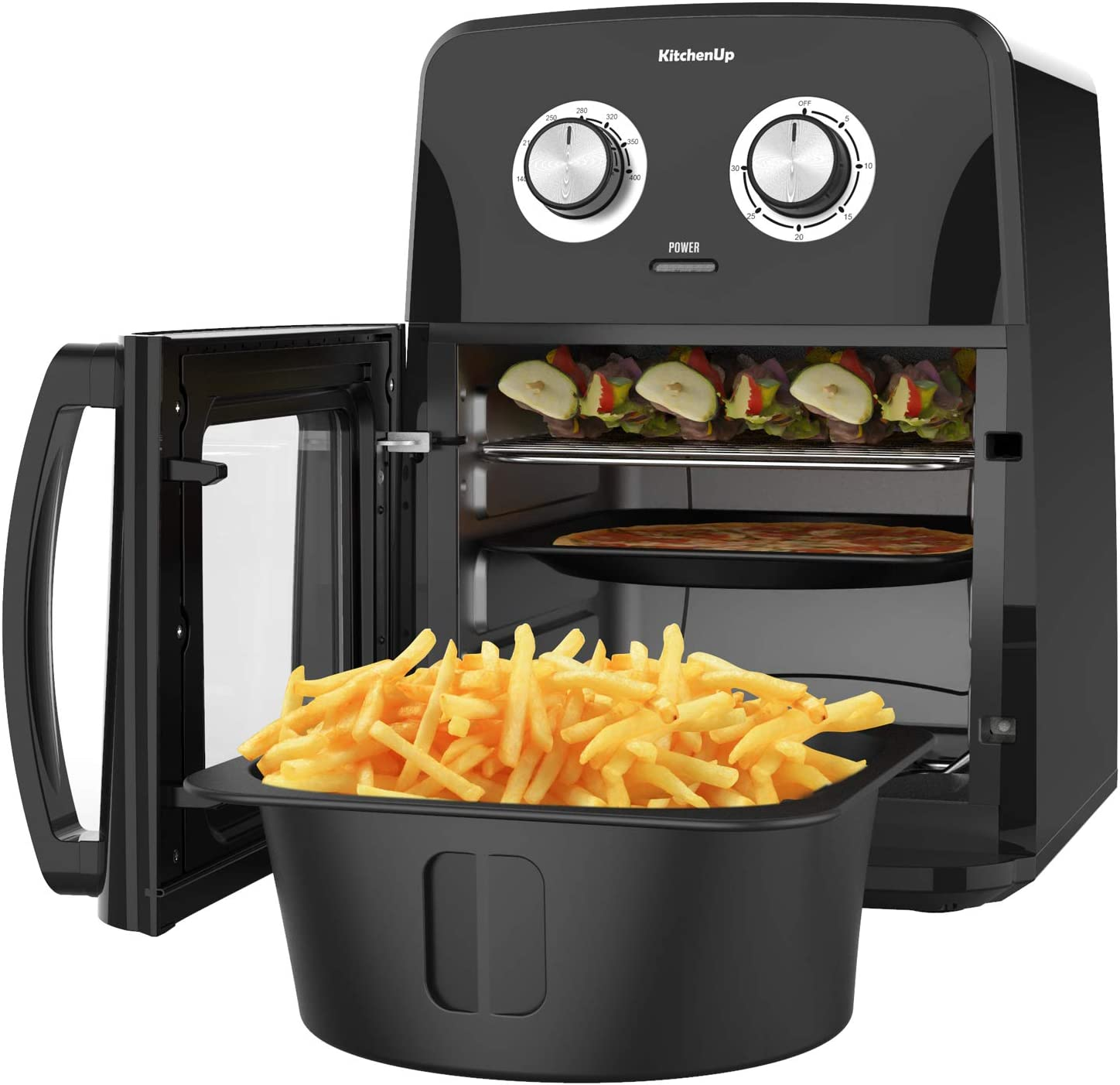 KitchenUp 12 QT Air Fryer Spring new work one after another Hot Auto-Stirring Spring new work 10-in-1 Oven Combo