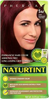 Naturtint Hair Color - Permanent - 5M - Light Mahogany Chestnut - 5.28 oz (Pack of 3)