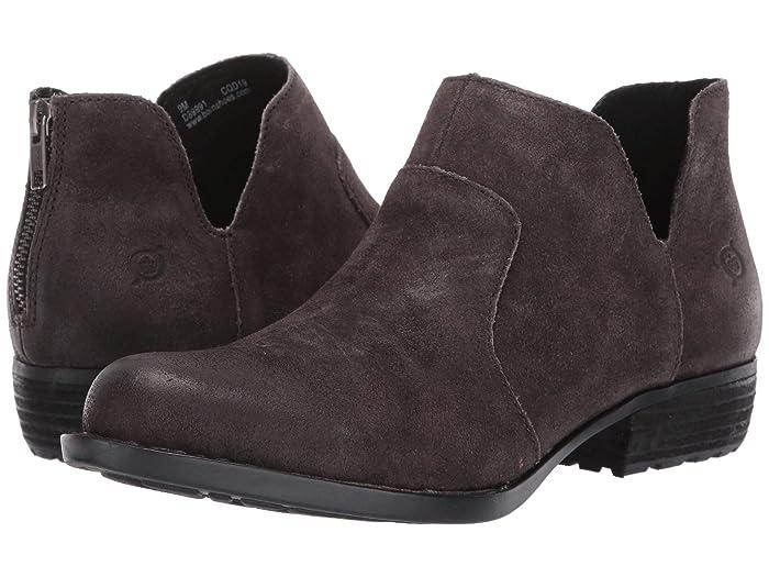 Born  Kerri (Grey Distressed) Womens Dress Zip Boots
