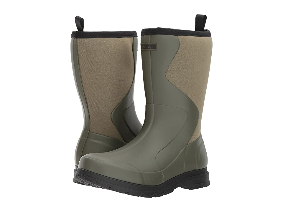 Ariat Springfield Rubber Boot (Olive Green) Men