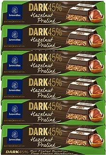 Leonidas Belgian Chocolates - 50 gr Batons - Dark Hazelnut Praline