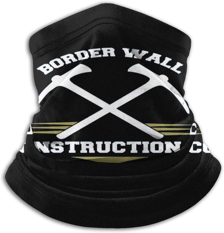 Border Wall Construction Co Build The Wall Face Mask Neck Gaiter Bandana Balaclava Unisex Breathable Scarf Windproof
